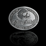 Bone Crusher Buckle Skull
